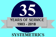 Systemetrics, Inc.:  35 Years of Service